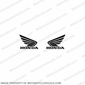 1000RR Tank Logo Decals - Black