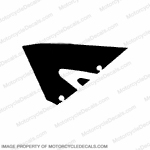 600RR Left Upper Fairing Decal 05