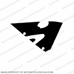 600RR Right Upper Fairing Decal