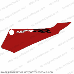 929 Left Tail Decal (Red/White)