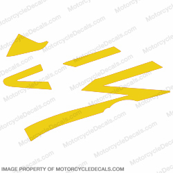 954 Left Mid Fairing Stripes (Yellow)
