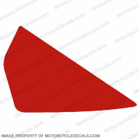 954 Left Tank Decal (Red)