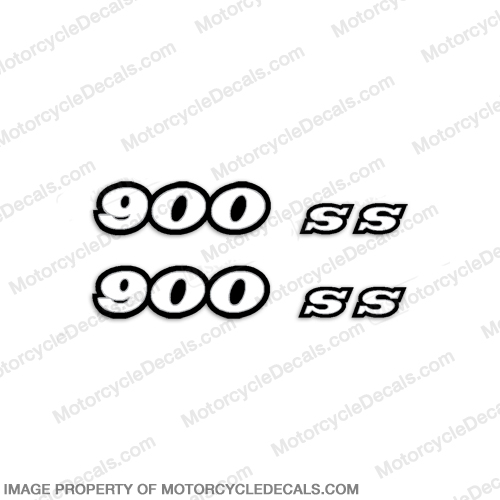 Ducati 900ss Decals