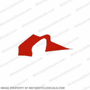 F4 Right Mid to Upper Fairing Decal (Red)