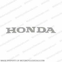 "F4 Lower ""Honda"" Decal (Silver)"
