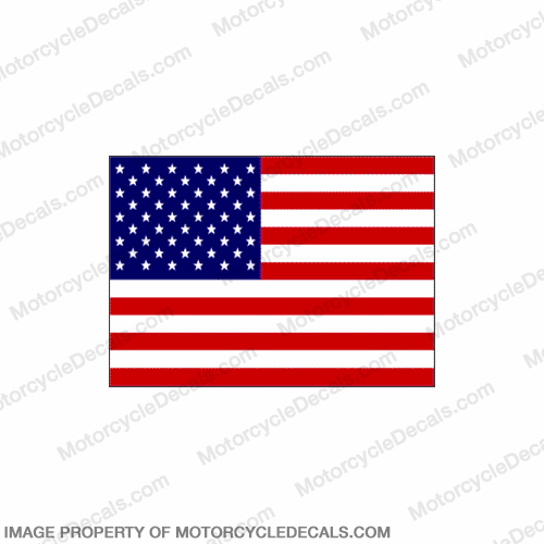 Flag Decal - American 6""