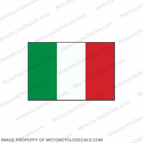 Flag Decal - Italy 6""