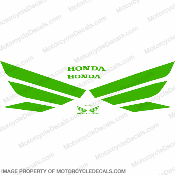Generic Wing Decal Kit - Green
