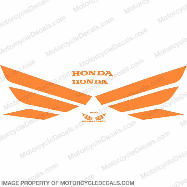 Generic Wing Decal Kit - Orange