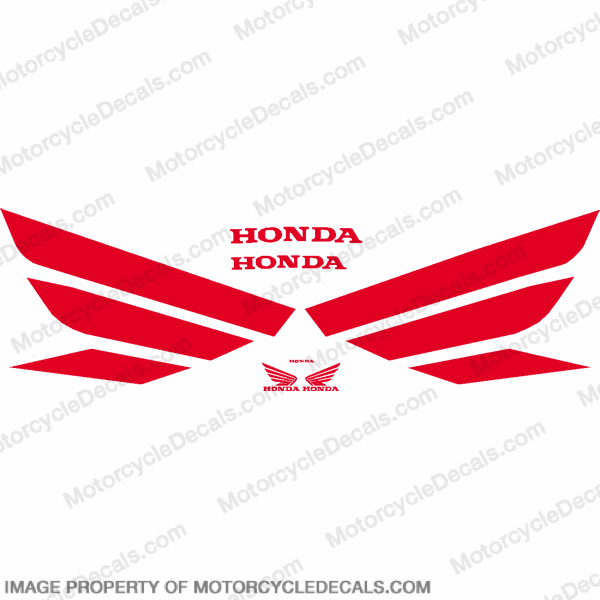 Generic Wing Decal Kit - Red