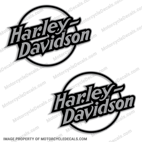 Harley-Davidson Fuel Tank Motorcycle Decals (Set of 2) - Style 11