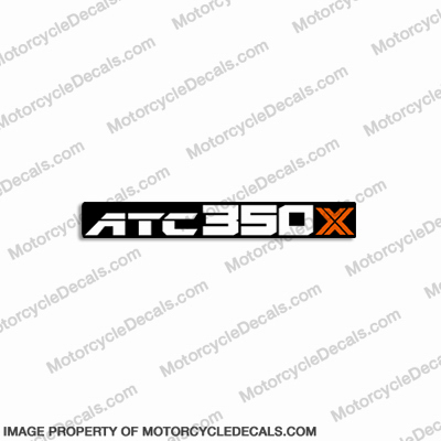 Honda 350X Decal - 1986 350 x, 350-x, 86