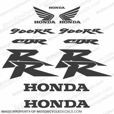900RR 11pcs Decal Kit - Carbon Fiber
