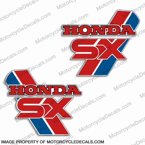 Honda 1987 ATC 250SX Decals