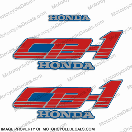 Honda 1990 CB-1 Decals for CB400F