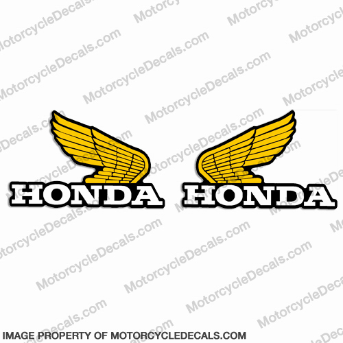 Honda 1979 - 1984 Z50 Gas Tank Decals