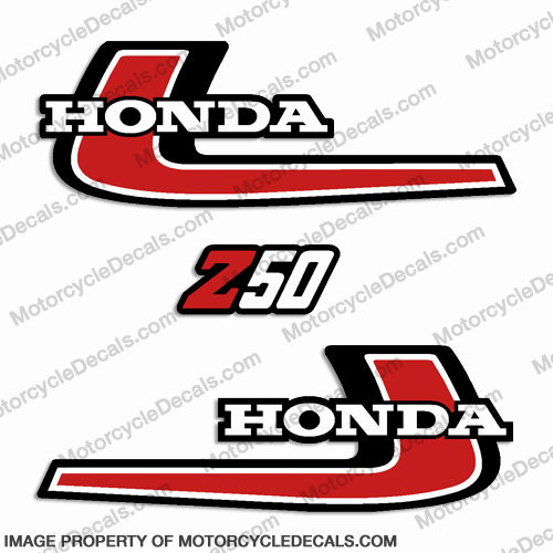 Honda 1976 Z50 Decal Kit