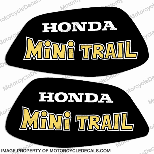 Honda 1972 Z50 Decal Kit - Yellow