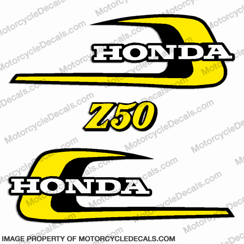 Honda 1974 Z50 Decal Kit