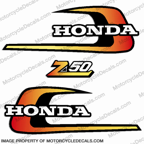 Honda 1975 Z50 Decal Kit