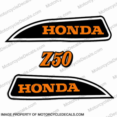 Honda 1973 Z50 Decal Kit
