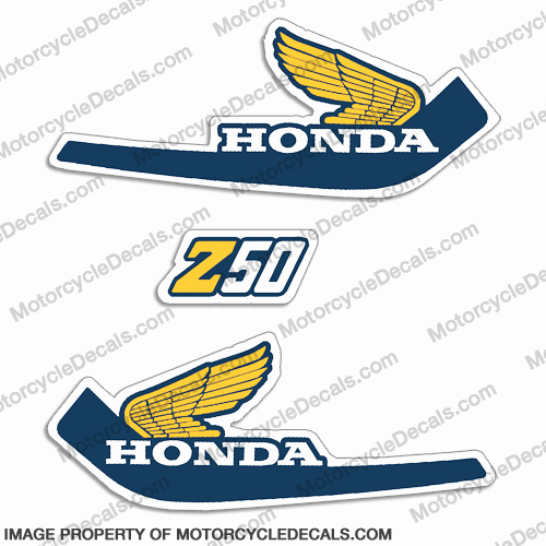 Honda 1977 Z50 Decal Kit