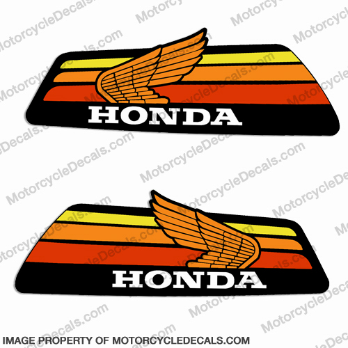 Honda 1978 Z50 Tank Decals