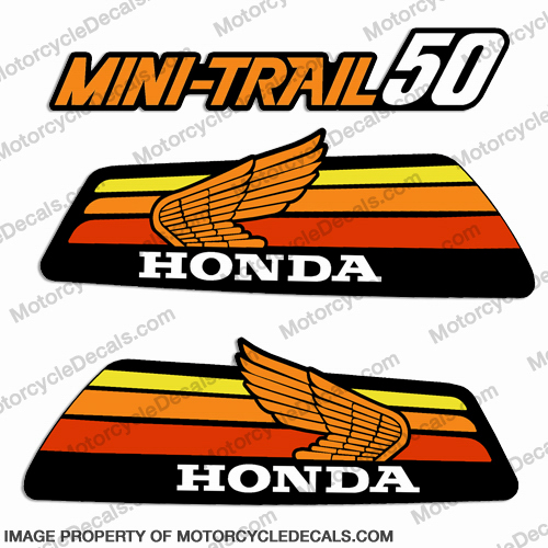 Honda 1978 Z50 Decal Kit