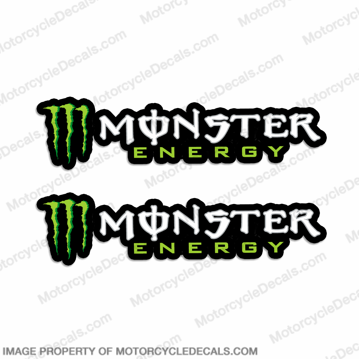 Monster Energy Decals - Set of 2