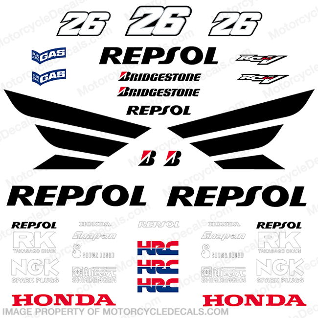 Race Replica Decals Page 4