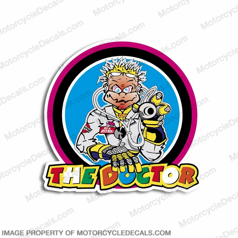 "Valentino Rossi ""Doctor Logo"" Decal"