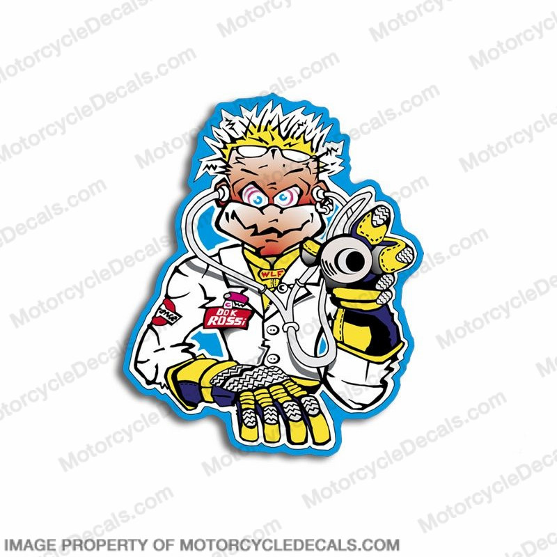 "Valentino Rossi ""Doctor"" Decal"
