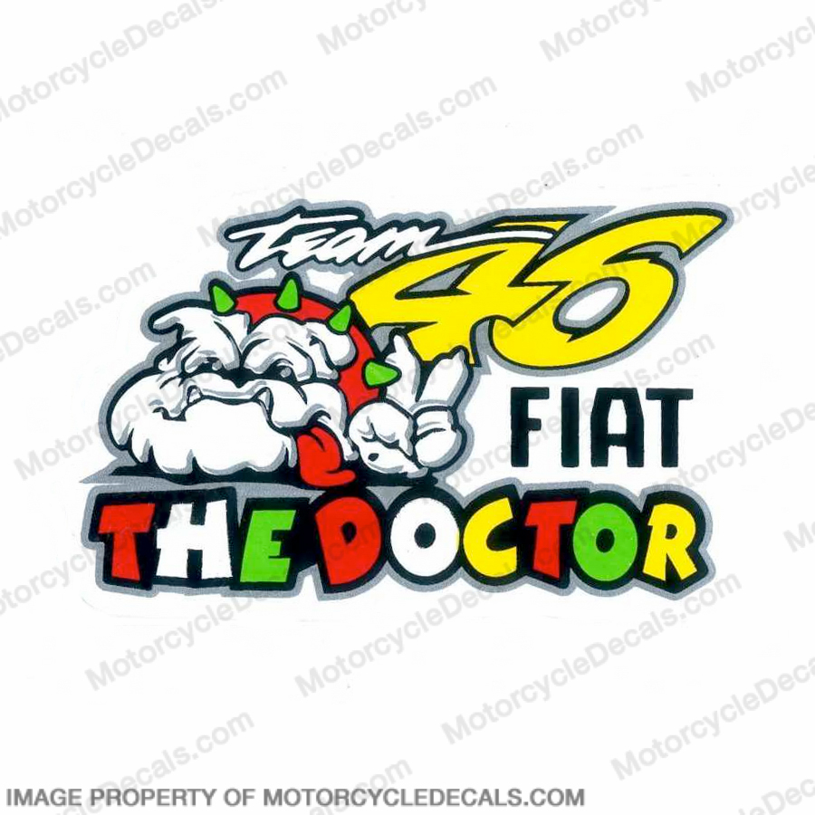 "Valentino Rossi ""The Doctor Team 46"" Decal"