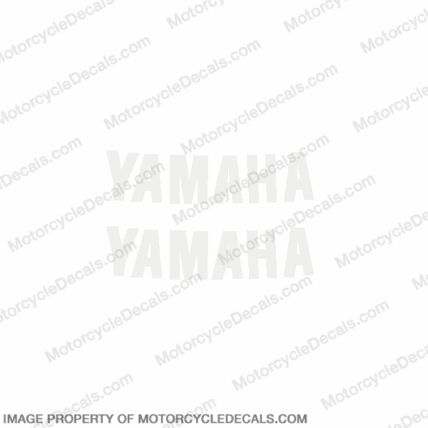 "2002 R6 ""Yamaha"" Gas Tank Decals - Set of 2"