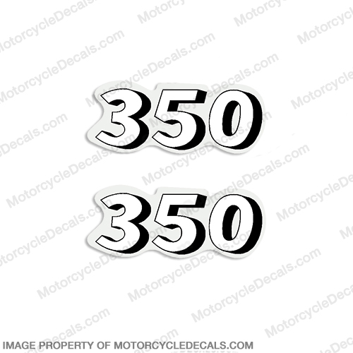Honda SL350 K1 Outboard Decals (Set of 2) - 1970 - 1971