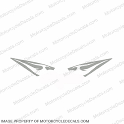 600RR Tribal Tank Decals - Silver