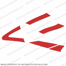 929 Left Side Mid-Fairing (Red)