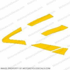 929 Left Side Mid-Fairing (Yellow)