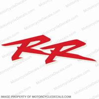"954 Right Mid Fairing ""RR"" Decal (Red/White)"