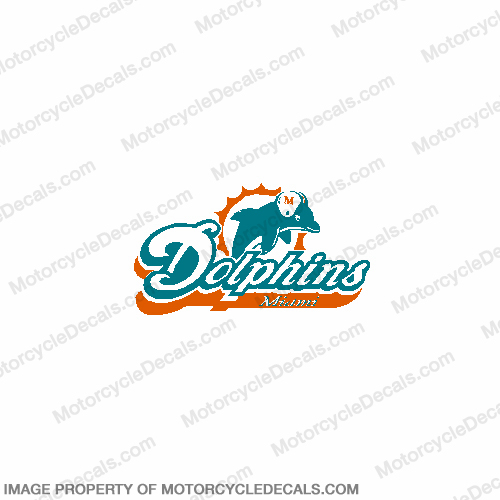 NFL Miami Dolphins Decal