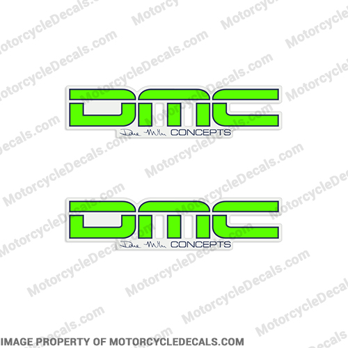 Dave Miller Concepts Motorcross Decals (Set of 2)
