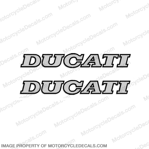 Ducati Decals - Set of 2