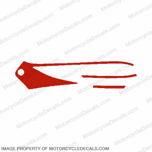 F4 Right Mid Fairing Decal (Red)