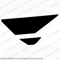 F4i Left Tank Wing Decal (Black)