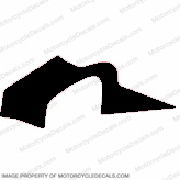 F4i Right Mid to Upper Fairing Decal (Black)