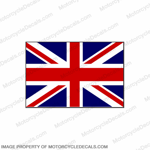 Flag Decal - British 6""