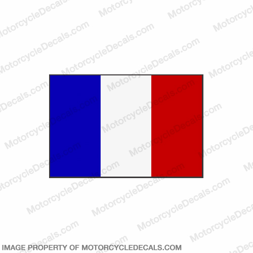 Flag Decal - France 6""