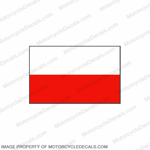 Flag Decal - Polish 6""