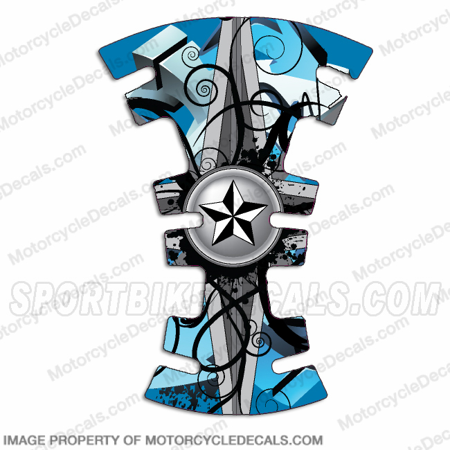 Gas Tank Protector - Nautical Star (Any Color)
