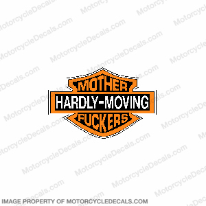 Hardly Moving Decal